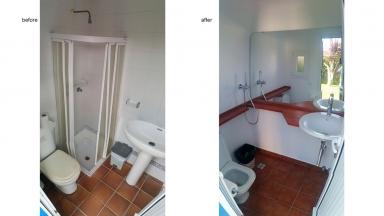 House refurbishment | Outdoor restroom